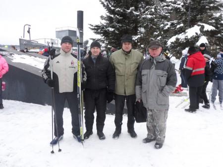 Городские лыжные гонки 2015