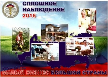 О проведении Сплошного статистического наблюдения за деятельностью малого и среднего предпринимательства за 2015 год на территории Ленинградской области