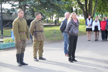 Военно-исторический поход в честь 75-летия открытия Дороги Жизни