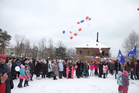 Открытие Суворовского сквера